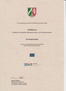 iGOBSIS-Urkunde